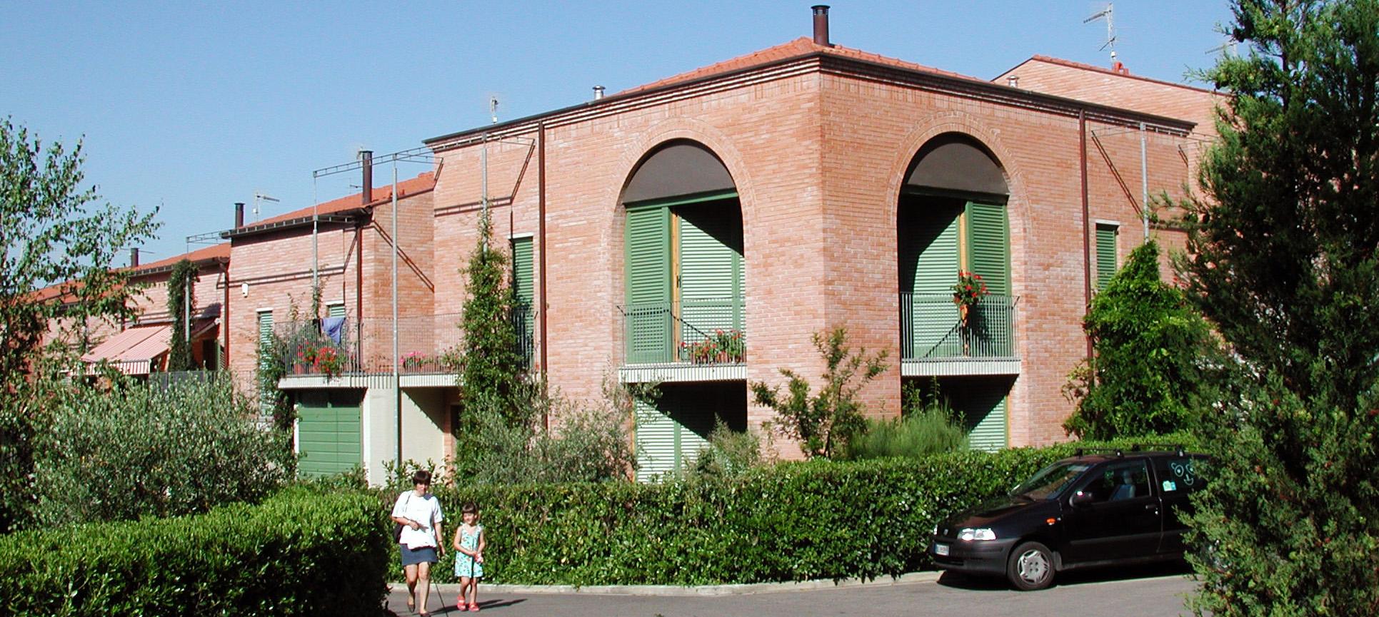 Complesso residenziale per 41 alloggi martini ruggeri for Piccoli piani di progettazione di edifici commerciali