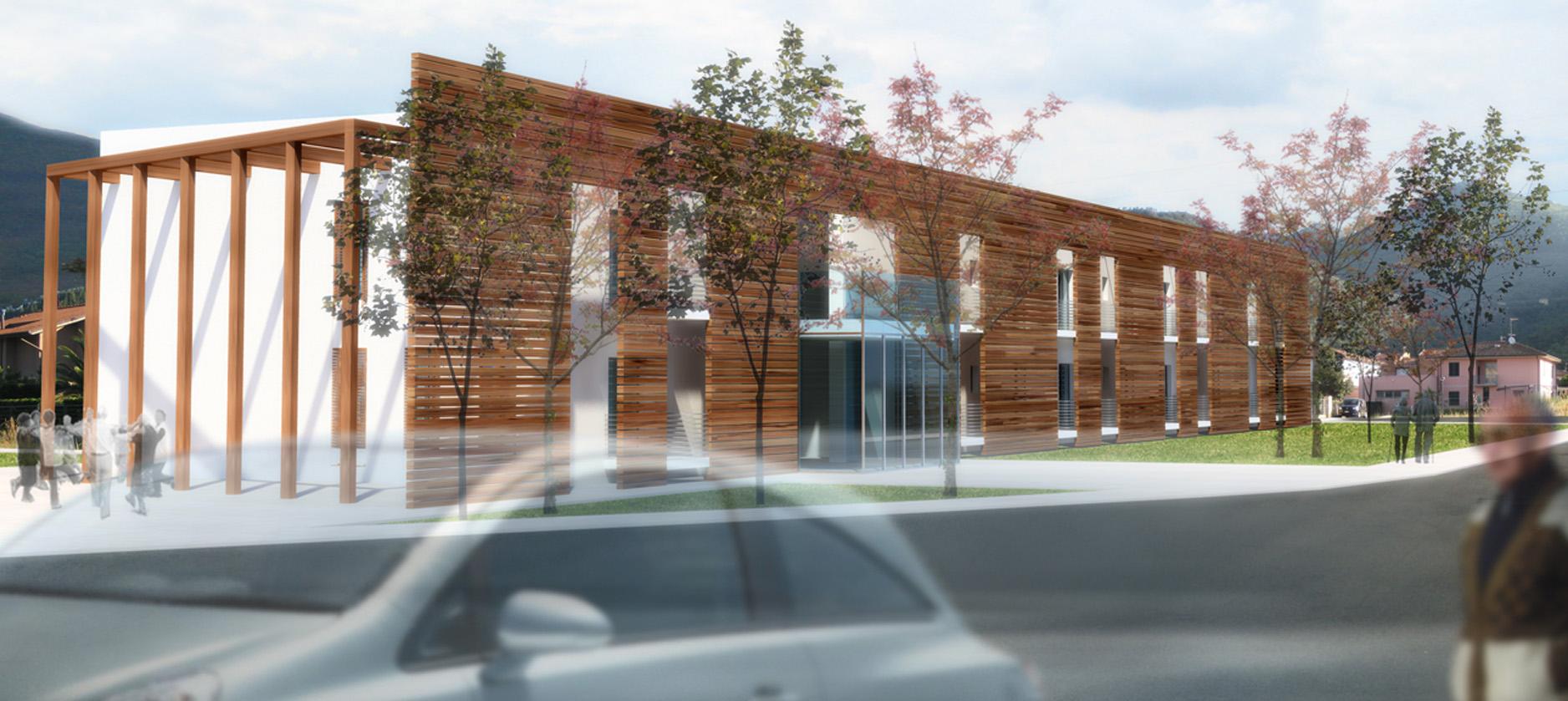 Residenza per anziani martini ruggeri partners for Piccoli piani di progettazione di edifici commerciali