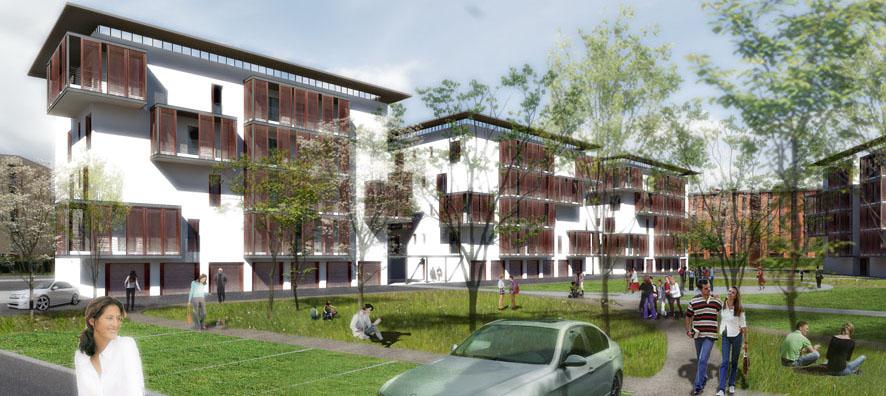 Complesso residenziale per 72 alloggi
